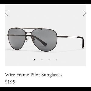 Coach Aviator Suglasses